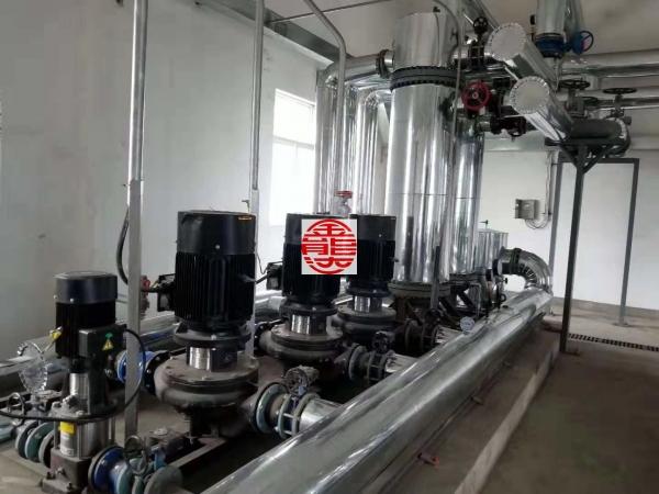 济宁管壳式换热机组