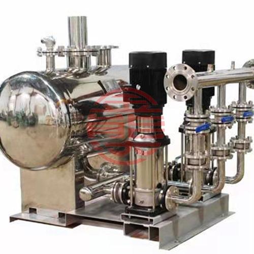 无负压变频调速智能给水设备