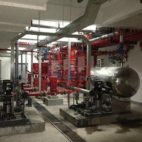 消防及生活用水泵房